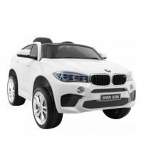 Akumulatoru licenzēta vienvietīga bērnu mašīna BMW X6M radiovadāmā 09-460
