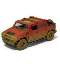 Metāla mašīnas modelis 2005 Hummer H2 SUT (Muddy) 1:40 Kinsmart