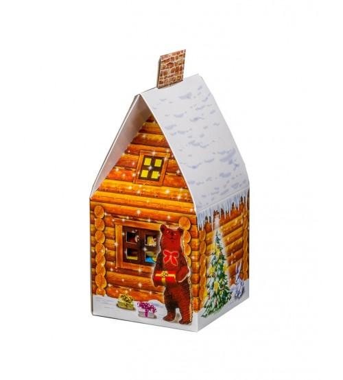 """Kārba """"Mazā mājiņa"""" ar saldumiem 300 gr K19-27"""
