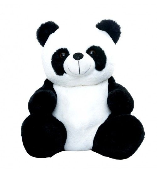 Panda mīksta rotaļlieta ar saldumiem 600 gr + atstarotājs K21-12