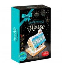 """Piparkūkas ar dekorēšanas komplektu """"Māja""""  (ar pārtikas krāsas zīmuļiem) 810 gr  K22-18"""