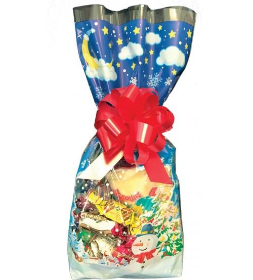 Ziemassvētku paciņa ar saldumiem 400 gr K22-41