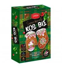 """Piparkūkas ar dekorēšanas komplektu """"Piparkūku izlase Koo & Bis (pārtikas krāsas)"""" 235 gr K22-6"""