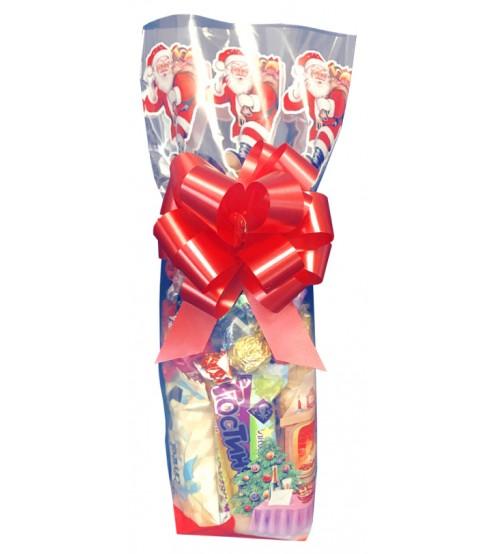 Ziemassvētku paciņa ar saldumiem 250 gr K19-33