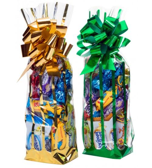 Ziemassvētku paciņa DIA ar konfektem bez cukura 300 gr K21-41
