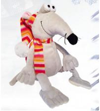 Pele Rūdolfs mīksta rotaļlieta ar saldumiem 500 gr K20-2