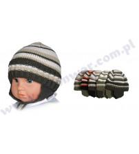 42-44 cm bērnu cepure zēniem P-CZ-106E dažādas krāsas