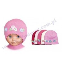 50-52 cm bērnu cepure meitenēm P-CZ-633 dažādas krāsas