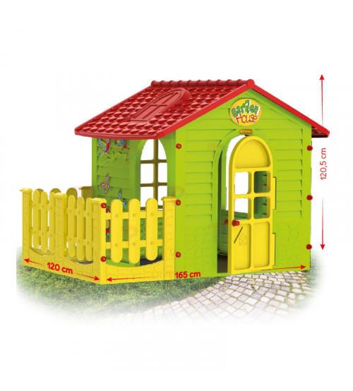 Bērnu dārza mājiņa 1,69x1,2x1,2 cm 10839