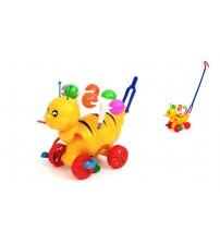 Stumjamā plastmasas rotaļlieta ar kociņu - bite 340145