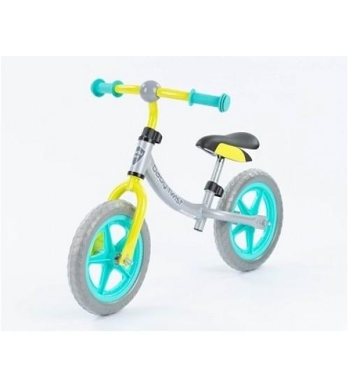 Balansa velosipēds 12 collas ar metālisko rāmi līdz 25 kg no 3 gadiem UR-WB-08GREEN